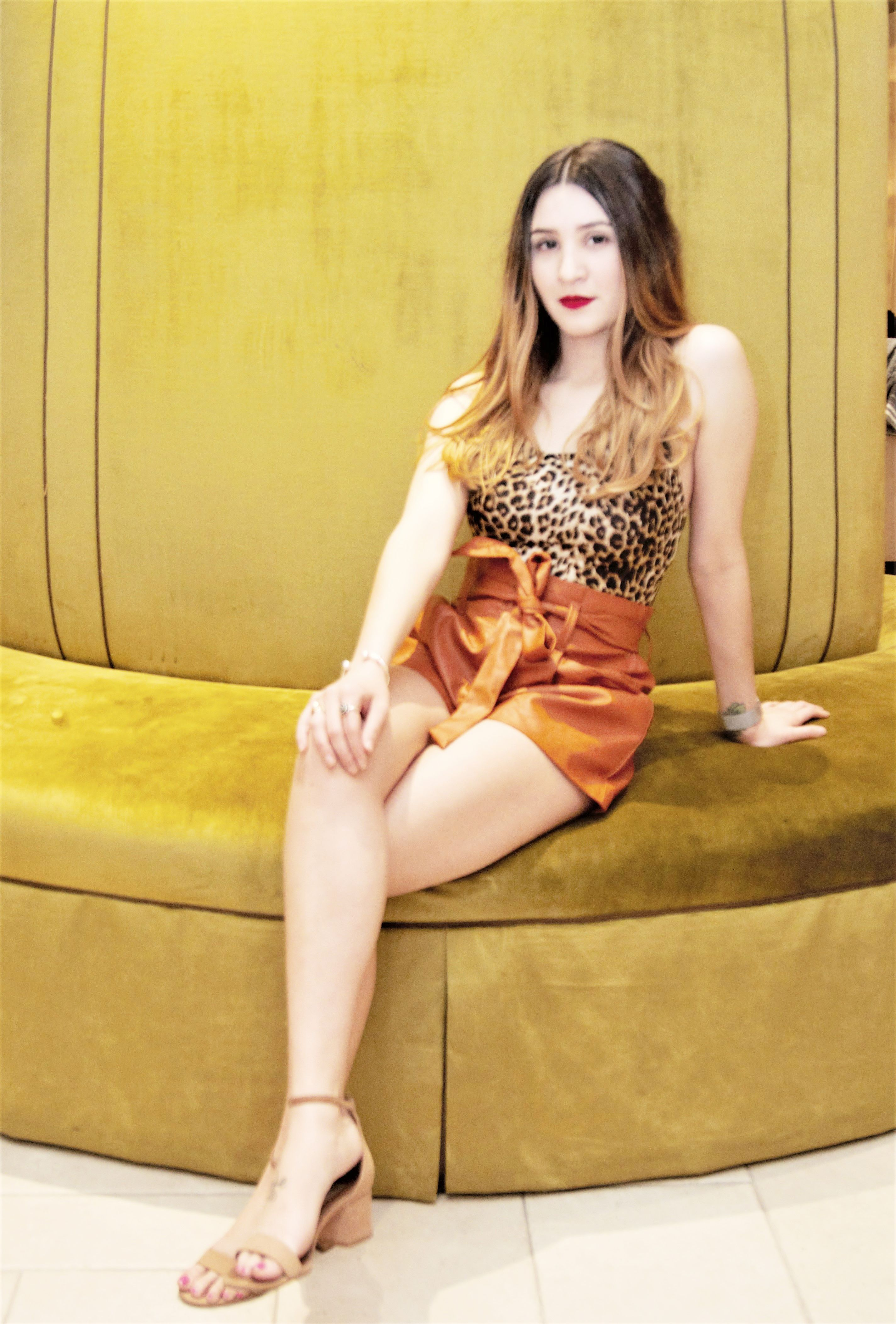 Leopard Print is a Nude.  Did You Know?